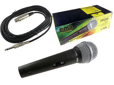 Emb Uni-directional Premium Dynamic Cardioid Microphone Karaoke Vocal Metal 600