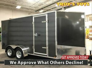 2019 Canadian Trailer Company 7X14 V-Nose Cargo Trailer Steel