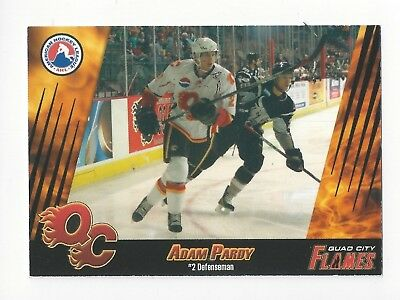 2007-08 Quad City Flames (AHL) Adam Pardy (Frölunda HC)