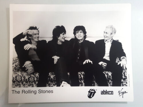 THE ROLLING STONES PRESS PHOTO - ORIGINAL - FREE SHIPPING!
