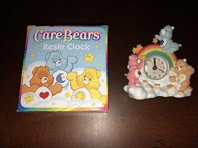 Care Bears Resin Clock New Cheer Bear, Friendship Bear, Grumpy Bear Free Ship - Care Bears Cheer Bear