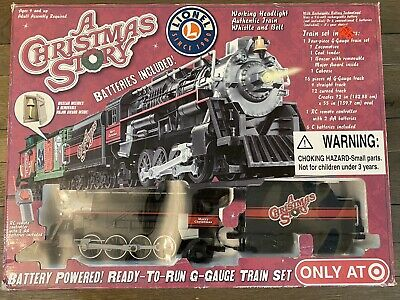 Lionel A Christmas Story Battery Powered G-Gauge Train Set Target Exclusive 2009