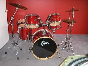 Gretsch Catalina Club 6 Piece Kit As New with Cymbals & Cases Clarkson Wanneroo Area Preview