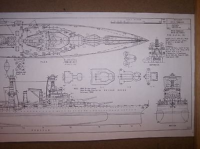 USS TENNESSEE BB43 ship boat model boat plans