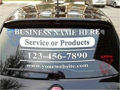 Custom Vinyl Lettering Personalized Business Name Logo Sticker Decal 20-8