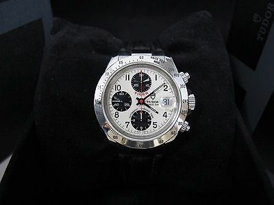 Tudor Prince Date Tiger White Dial Automatic Chronograph Watch