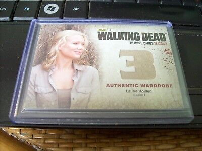 The Walking Dead Wardrobe Card Andrea Laurie Holden for sale  Strathroy