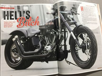 Custom Harley Davidson Softail Helensvale Gold Coast North Preview