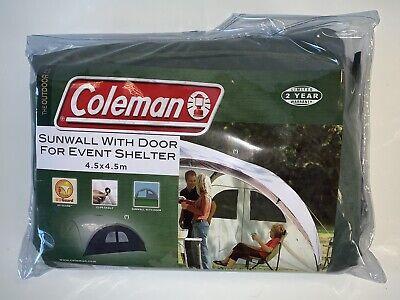 Coleman Sunwall with Door for 4.5m x 4.5m Event Shelter Grey - SUNWALL with Door