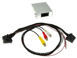 Multimedia Adapter IMA Interface Modul Video TV Kabel Stecker MFD2 RNS2 f VW