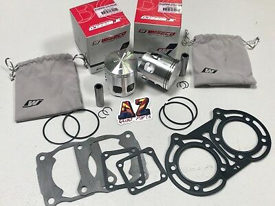 Yamaha Banshee YFZ 350 65mm +1mm Wiseco Pro Lite Pistons Piston Set Gaskets Kit