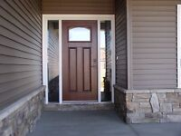Door and window installs