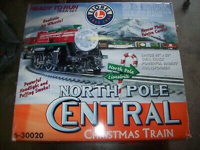 Lionel 6-30020 North Pole Central Christmas Train Set O Scale