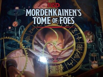D D Mordenkainens Tome Of Foes D D Accessory By Wizards Rpg Team 2018 Hardcover