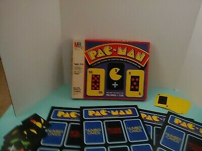 Pac-Man Card Game Vintage 1982 Board Game Milton Bradley Complete