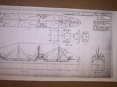 T-2 tanker ship plans