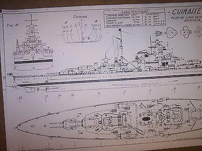 bismarck ship plan
