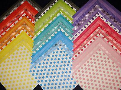 12x12 Scrapbook Paper Studio Stack Basics Pack Rainbow Colors 60 Wholesale Lot (12x12 Scrapbook Paper)