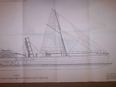 paddle steamer HOPE civil warship plans