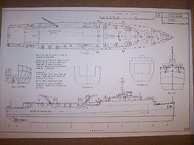 USS ASHLAND ship boat model boat plans