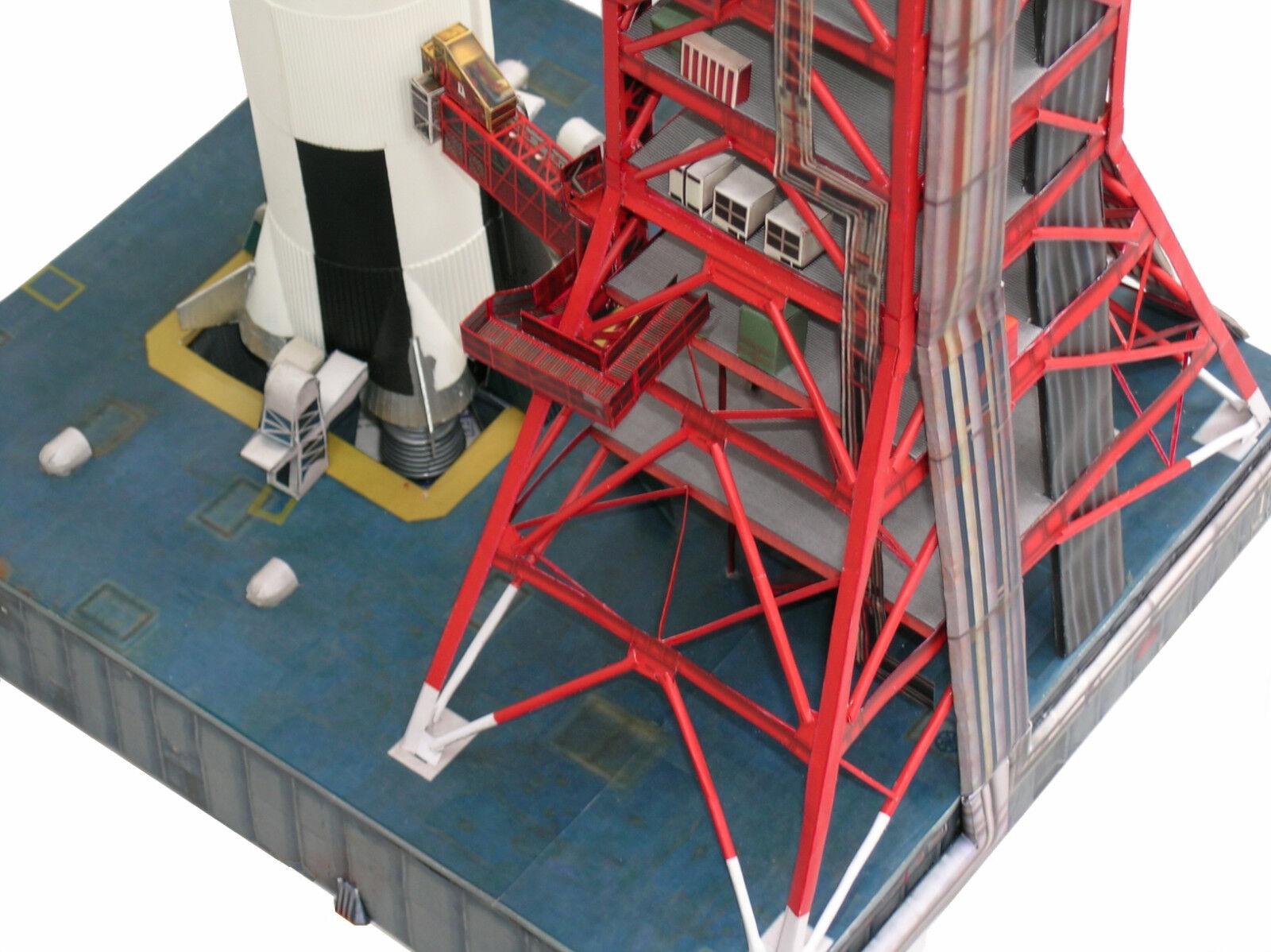 Launch Umbilical Tower LUT Craft Model for Monogram,Airfix 144 Saturn V PLS.READ