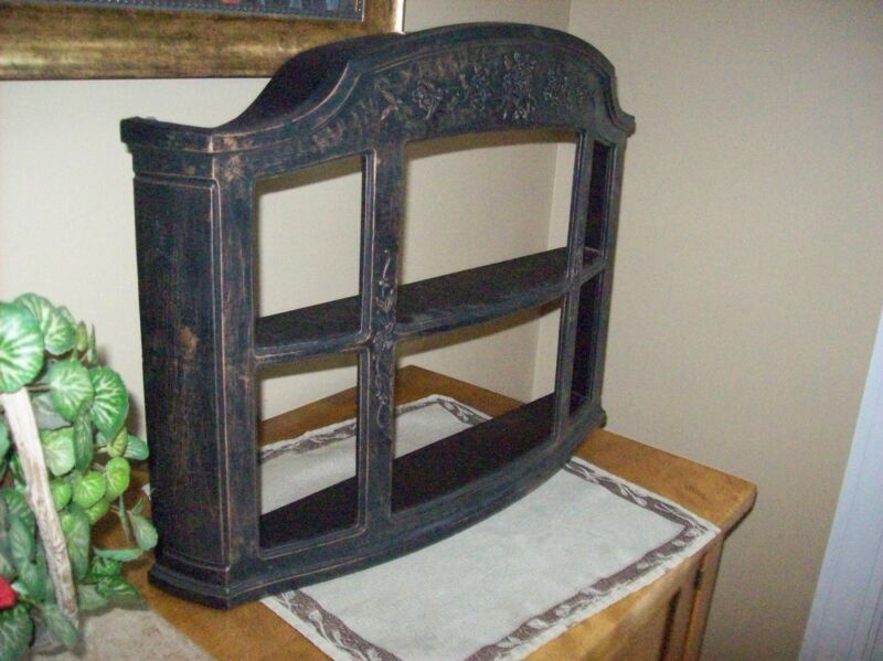 Vintage 1970's COPPERCRAFT GUILD Wall Shelf GREAT CONDITION