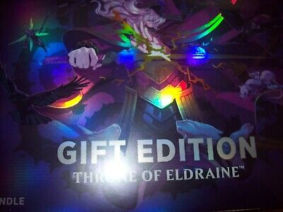 MTG Throne of Eldraine Sealed Bundle Holiday Gift Edition Box Collector Booster
