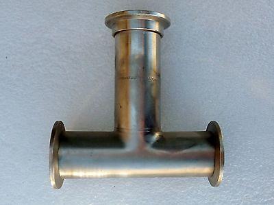 Vacuum Fitting Stainless Steel Tee 3-way Vacuum Kf-40 Nw40