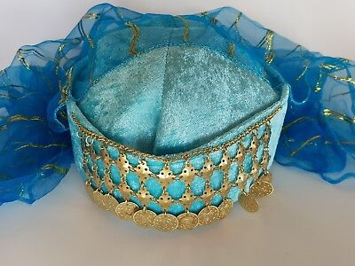 Turkish Handmade Folkloric Fez Ottoman Fes Orien Tarboosh Hat Cap Henna Kina 6