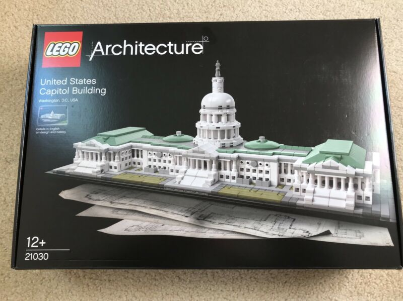 Lego Architecture United States Capitol Building 21030 Toys Indoor Gumtree Australia Monash Area Mount Waverley 1247658051