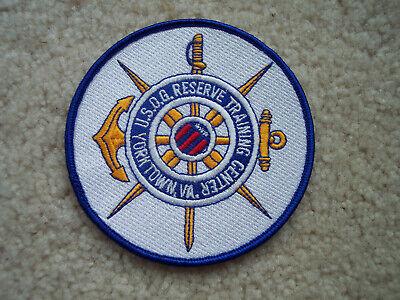 USCG US Coast Guard Reserve Training Center Yorktown VA color patch (Us Coast Guard Training Center Yorktown Va)