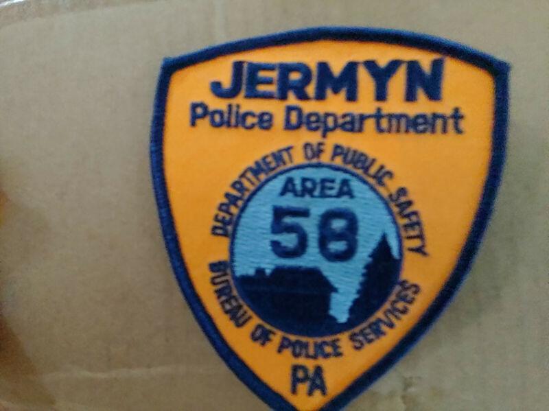 Jermyn Police Dept. Shoulder Patch