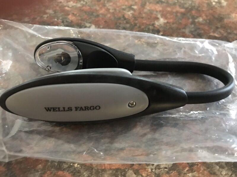 Wells Fargo New Flexible Clip On LED Light Lamp For Book Tablet Laptop PC