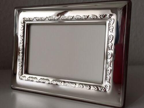 Massiver Sterling Silber 925 Bilderrahmen 13x18 Silberrahmen Fotorahmen NEU