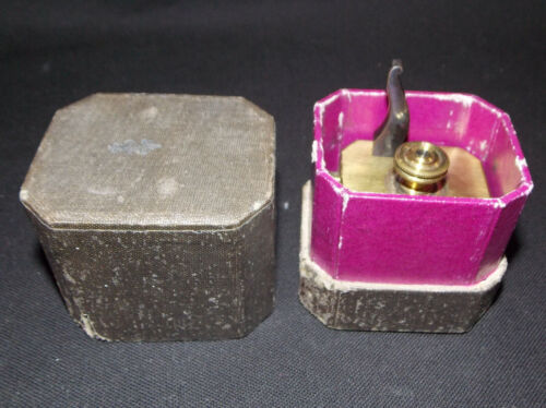 19c Antique Medical Scarificator Bleeder with original box Scarification