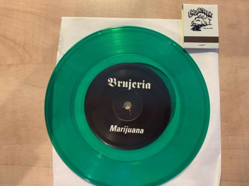 Brujeria Matando Gueros / Marijuana 7 GREEN Vinyl Like New W/ Matchbook Rare - $55.00