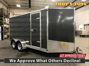 2019 Canadian Trailer Company 6X14 V-Nose Cargo Trailer Steel
