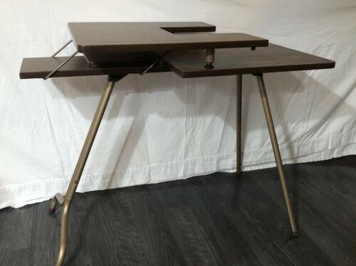 Vintage Sewing Machine Foldable Table folding two tier retro SIRCO bernina