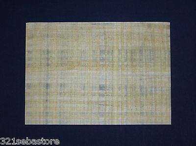 echter ägyptischer papyrus in premium qualität ~5 Blatt~ handgemachtes papier