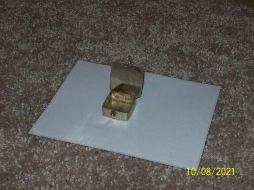 ALPACA & ABALONE Hinged Mini Trinket Pill Box/Mexico