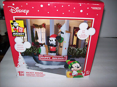 Disney 9ft steamboat willie inflatable nib 2018 90.years magic - Inflatable Willies