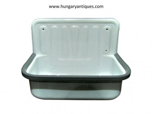 Bathroom enamel bucket sink,Wall Mounted Basins,Kitchen Sink,Farmhouse decor