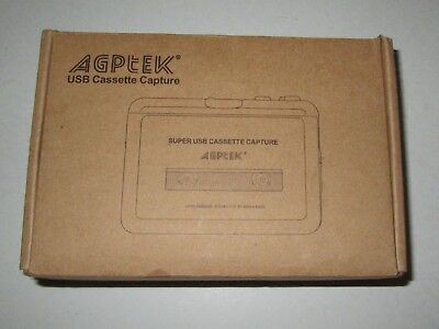AGPtek~Portable Super USB Cassette-to-MP3 Player Converter for sale  Shipping to India