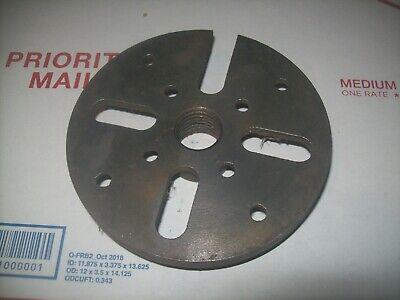 Craftsman 618 6 Lathe Face Plate 1 8 Tpi