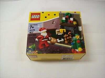LEGO 40125 NEW Christmas with Santa Sealed Box