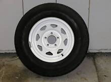 Sunraysia Ford Pattern 14x6 Wheel and 8 Ply Tyre Wandi Kwinana Area Preview