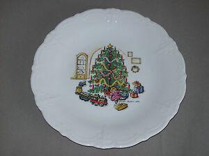 Tirschenreuth Hutschenreuther Speiseteller 26,5cm - Baronesse - Weihnachten