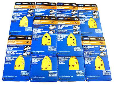 50 NORTON DETAIL SANDING DISC SHEETS 01148 180 GRIT CYCLONE SANDSTORM MEGA MOUSE