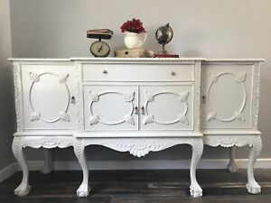 Claw Foot French Provincial Buffet