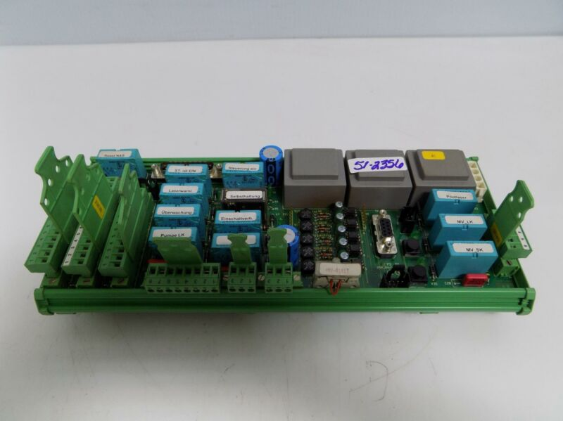 HAAS-LASER CONTROL PC BOARD 18-12-04-BS V1.4